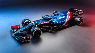 F1 2021 | Les photos de l'Alpine d'Alonso et Ocon