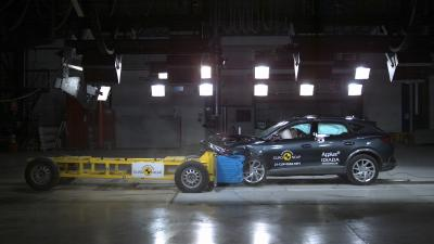 Cupra Formentor | les photos du crash-test Euro NCAP