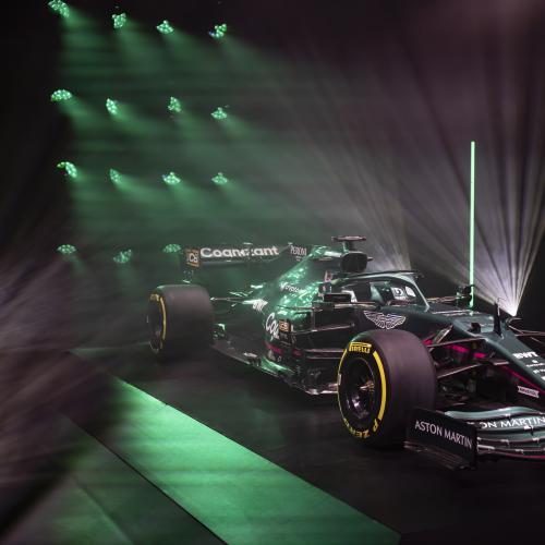 F1 2021 | Les photos de l'Aston Martin AMR21 de Stroll et Vettel