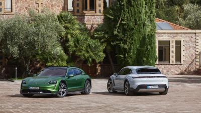 Porsche Taycan Cross Turismo | les photos de la sportive électrique