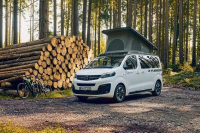 Opel Zafira Life Crosscamp Lite | les photos du camping-car familial