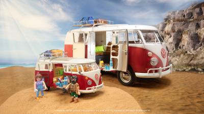 VW T1 Combi by Playmobil | Les photos du jouet et du modèle grandeur nature
