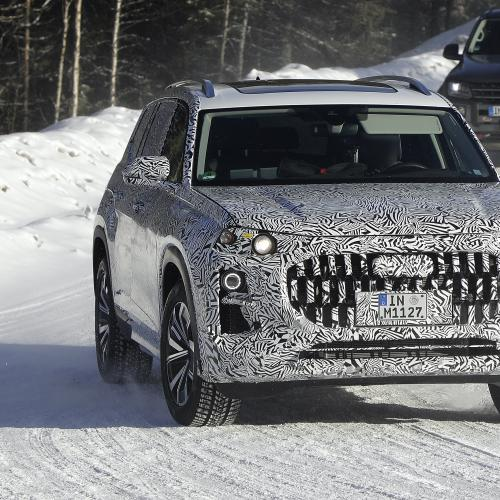 Audi Q9 (2022)   Les photos spyshots du futur grand SUV de luxe