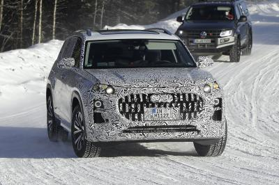 Audi Q9 (2022) | Les photos spyshots du futur grand SUV de luxe