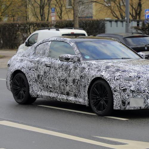 BMW M2 (2022) | Les photos espion du futur petit coupé sportif
