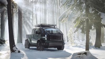 Canoo pick-up (2023) | Les photos du nouveau VE américain polyvalent