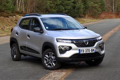 Dacia Spring Electric | Nos photos de l'essai de la petite roumaine électrique à bas prix