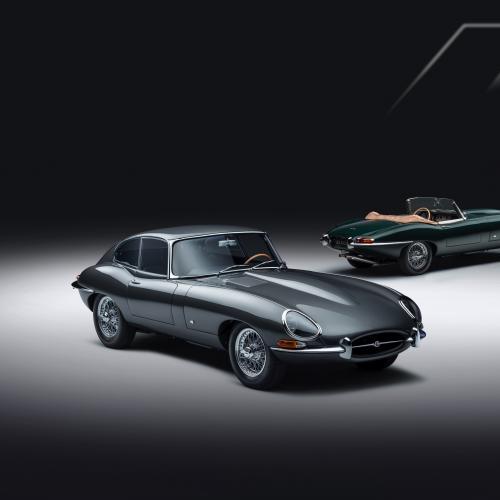 Jaguar Type E 60 Collection | Les photos du coupé et du roadster