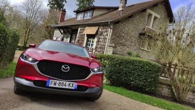 Essai Mazda CX-30 e-Skyactiv X Sportline | nos photos du SUV