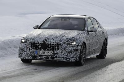 Mercedes-AMG C43   Les spy shots de la berline allemande