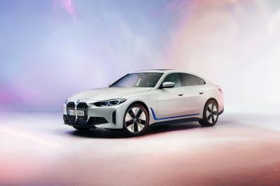 BMW i4 (2021)   Les photos de la berline premium 100% électrique