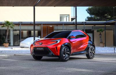 Toyota Aygo X Prologue   Les photos du concept-car