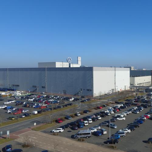 Site Volkswagen de Hanovre-Stöcken   Les photos de sa construction à aujourd'hui