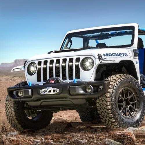 Jeep Wrangler Magneto | Les photos du concept-car tout-terrain