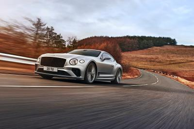 Bentley Continental GT Speed (2021) | Les photos du missile britannique