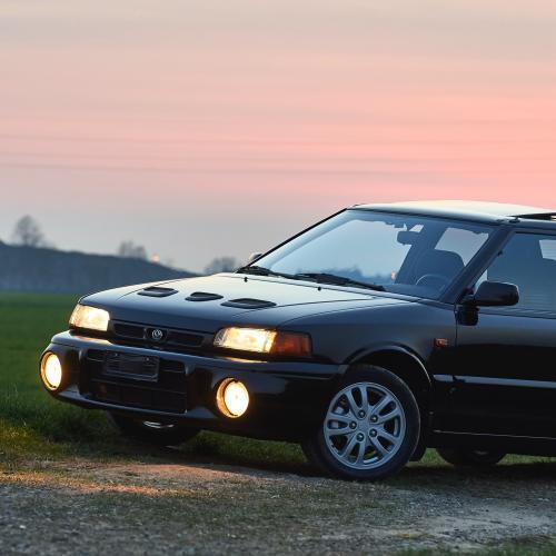 Mazda 323 GT-R | Les photos de la compacte sportive des 90's