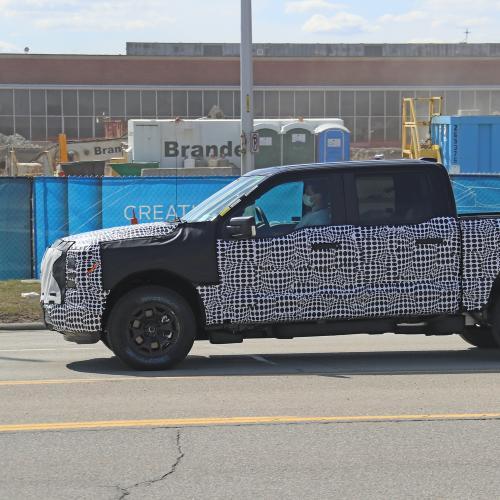 Ford F-150 EV | Les spy shots du pick-up électrique