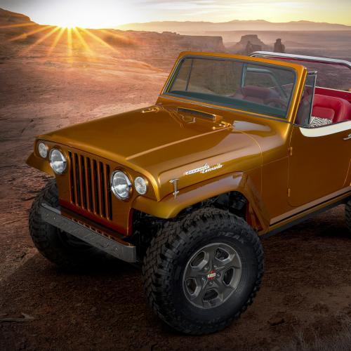 Jeepster Beach | Les photos du concept-car néo-rétro