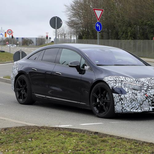 Mercedes EQS | Les spy shots de la berline électrique
