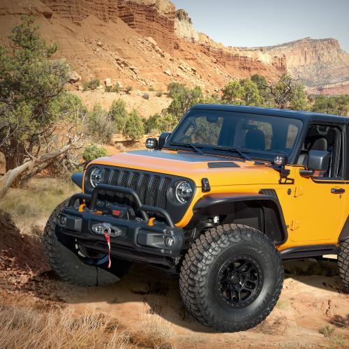 Jeep Orange Peelz | Les photos du Wrangler ultra-personnalisé