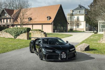 Bugatti Chiron Pur Sport | Les photos de la 300e Chiron fabriquée
