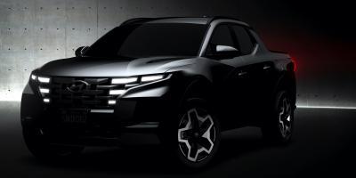 Nouveau Hyundai Santa Cruz (2022) | Les photos du teasing