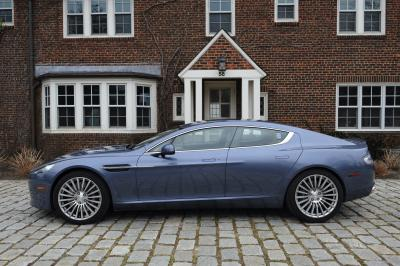 Aston Martin Rapide S | Les photos de la berline-coupé de luxe britannique