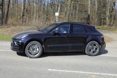 Porsche Macan (2021) | Les photos espion du SUV sportif restylé