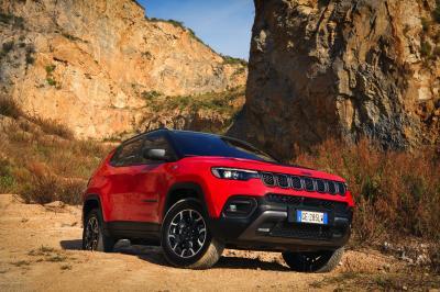 Jeep Compass restylé (2022) | Les photos du SUV compact restylé