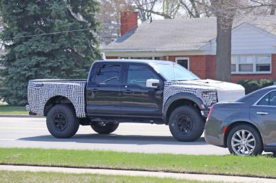 Ford F-150 Raptor R (2021) | Les photos espion du pick-up musclé