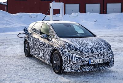Cupra Born (2021) | Les photos du prototype en Arctique