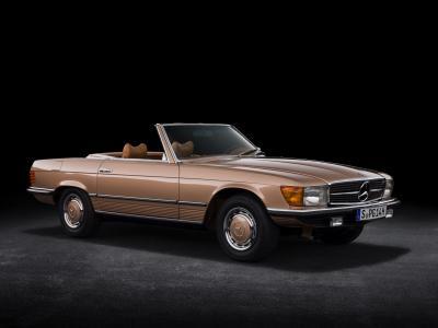 Mercedes-Benz SL (R 107) | Les photos du roadster fabriqué pendant 18 ans