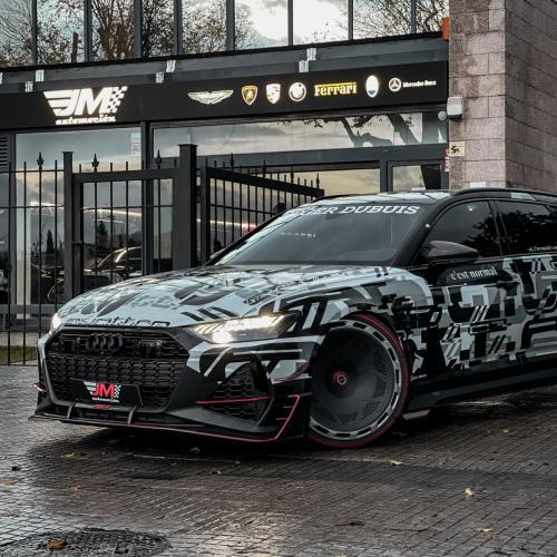 Audi RS6-R ABT   Les photos du break surpuissant de Jon Olsson