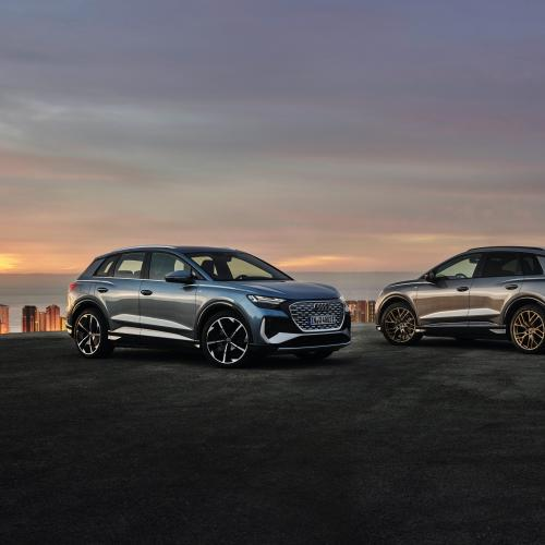 Audi Q4 e-tron (2021) | Les photos du SUV et de sa variante Sportback