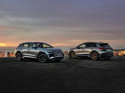 Audi Q4 e-tron (2021)   Les photos du SUV et de sa variante Sportback