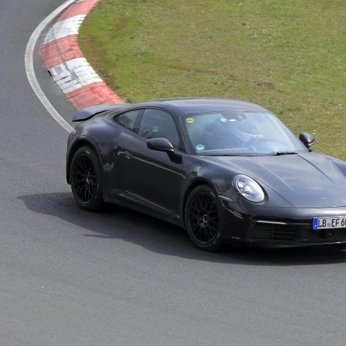 Porsche 911 type 992 Safari | Les photos du prototype sur le ring