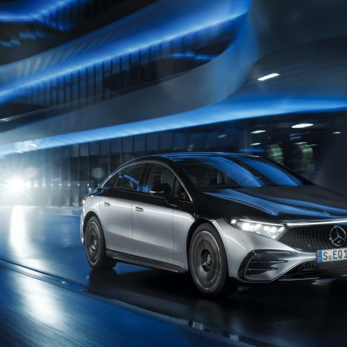 Mercedes EQS (2021) | Les photos de la grande berline électrique