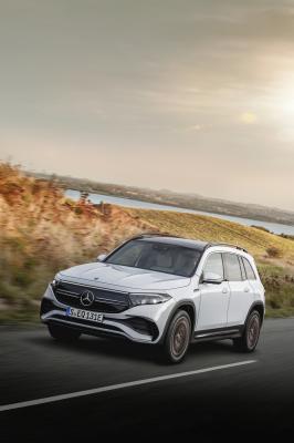 Mercedes EQB (2021)   Les photos du SUV 7 places 100% électrique