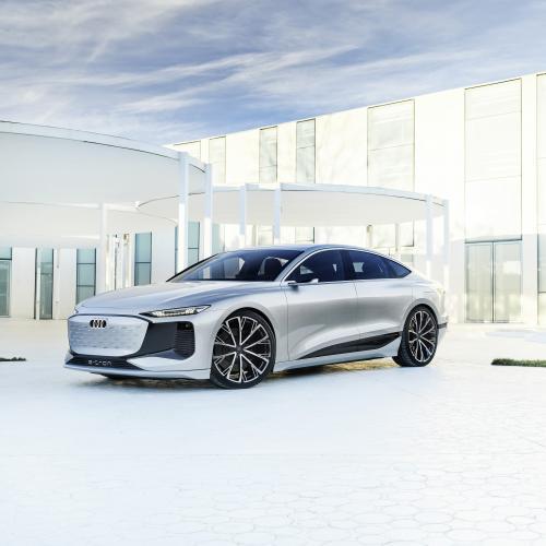 Audi A6 e-tron concept   Les photos du concept-car présenté à Shanghai