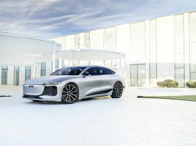 Audi A6 e-tron concept | Les photos du concept-car présenté à Shanghai