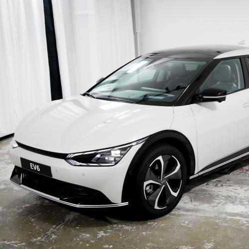 Kia EV6 (2021)   Nos photos du nouveau crossover 100% électrique