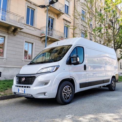 Fiat E-Ducato (2021)   Les photos de l'utilitaire électrique italien
