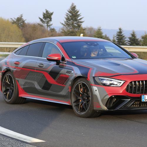 Mercedes AMG GT 4 portes restylée (2022) | Les photos du prochain missile