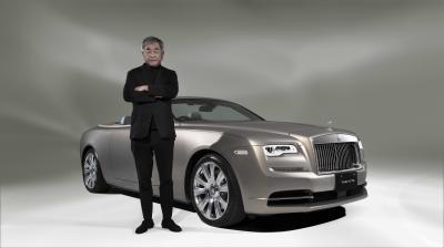 Rolls-Royce Bespoke Dawn by Kengo Kuma | Les photos du cabriolet de luxe