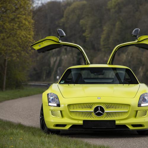 Mercedes-Benz SLS AMG Coupé Electric Drive   Les photos de la sportive électrique
