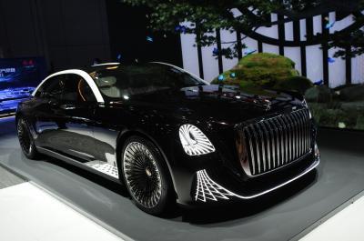 Hongqi L-Concept   Les photos du concept-car chinois