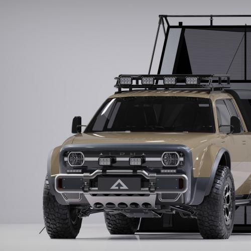Alpha Motors Wolf + | Les photos du pick-up en version longue