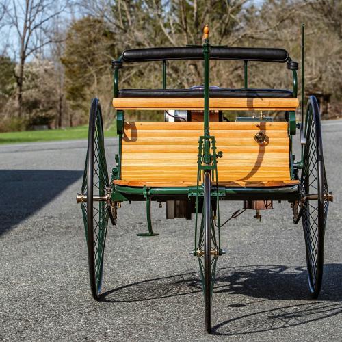 Benz Patent-Motorwagen   Les photos de la fidèle réplique anglaise