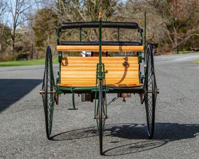 Benz Patent-Motorwagen | Les photos de la fidèle réplique anglaise