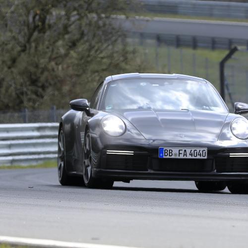 Porsche 911 type 992 Sport Classic | Les photos espion de la future sportive